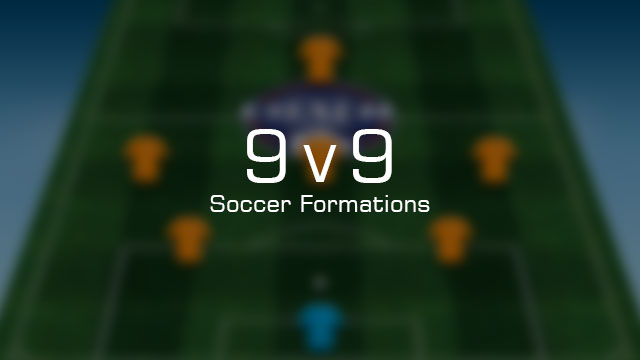 Interactive 9v9 Soccer Formations