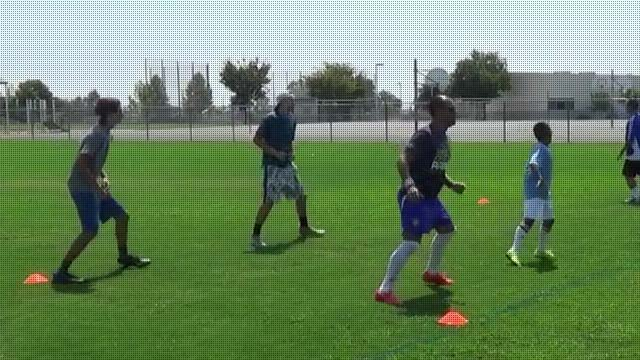 Shooting Soccer Drills